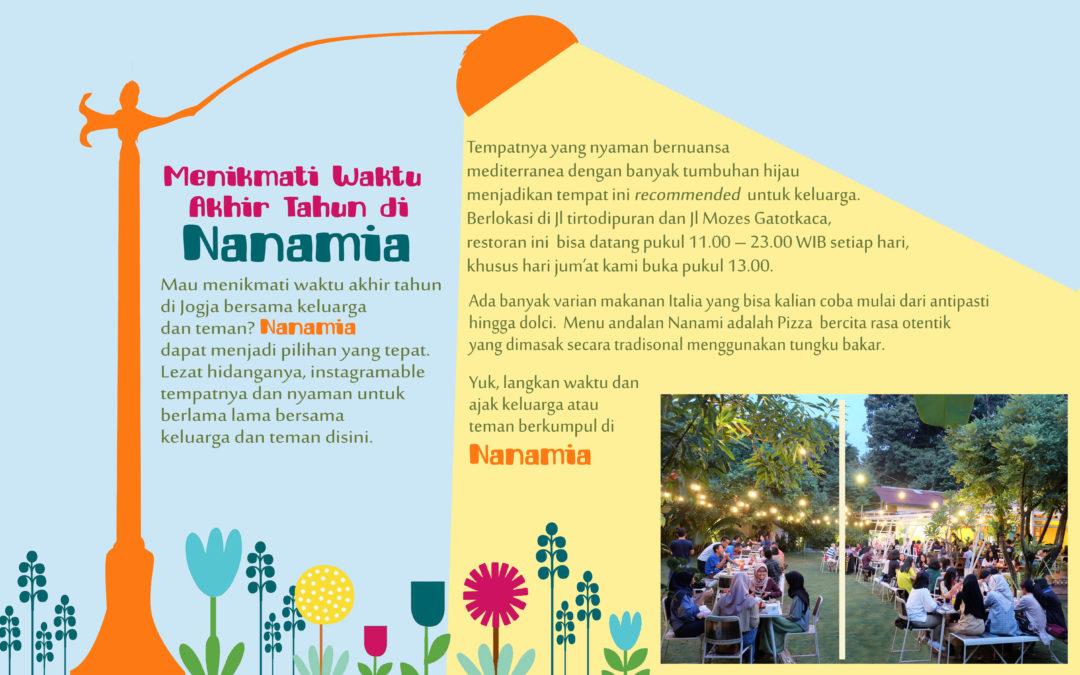 Menikmati Waktu Akhir Tahun di Nanamia